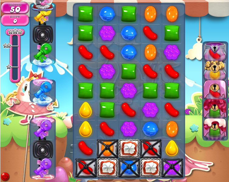 Candy Crush Saga niveau 740