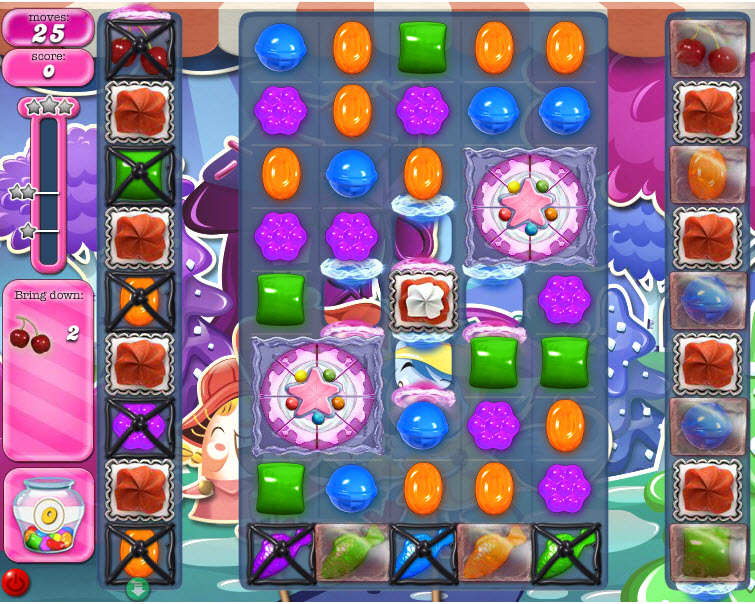 Candy Crush Saga niveau 1247