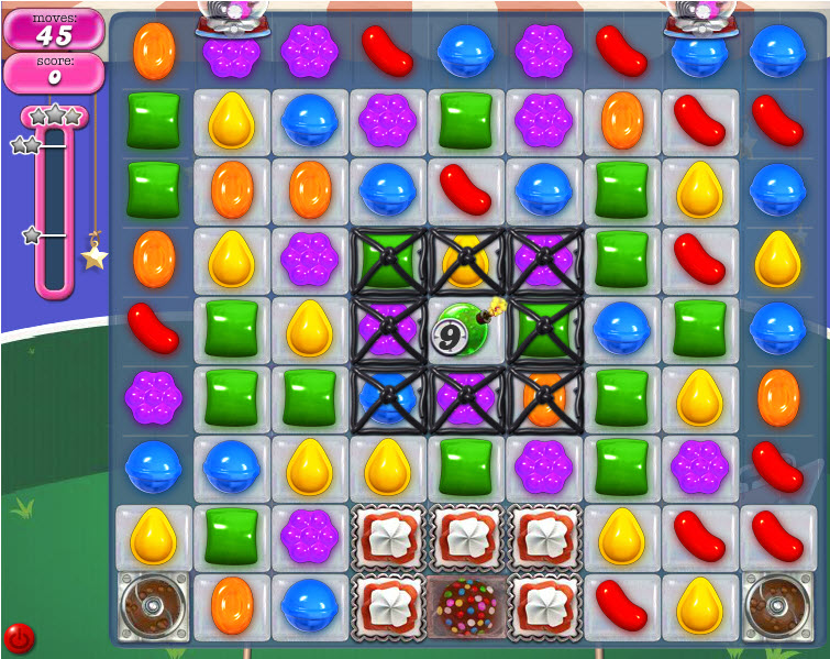 Candy Crush Saga niveau 399