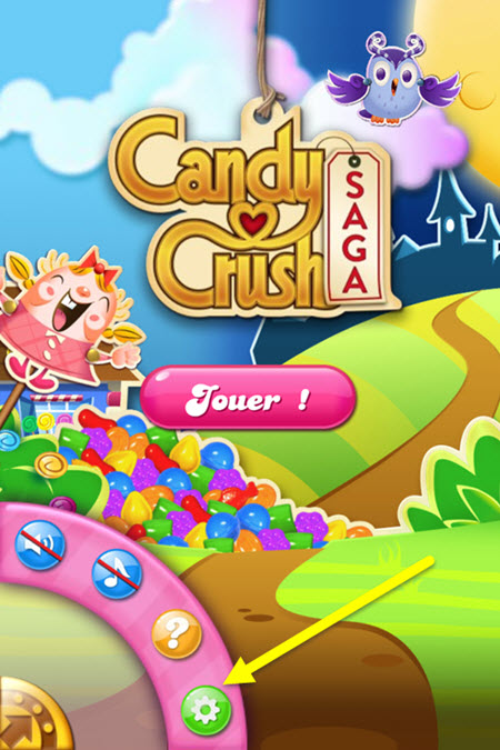 Candy Crush - Restaurez les achats 1