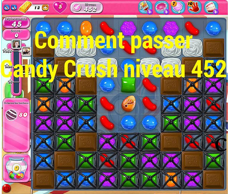 Candy Crush niveau 452