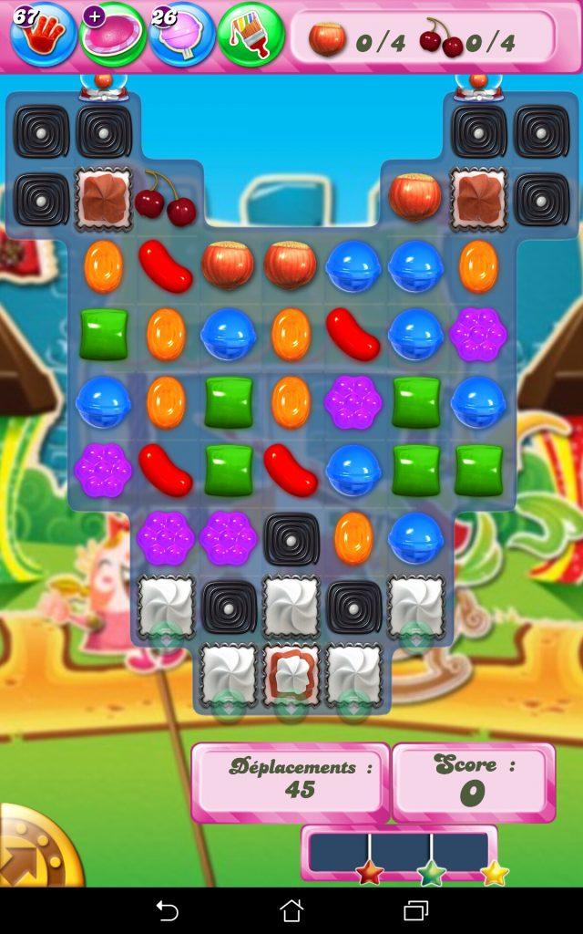 Candy Crush Saga niveau 679 - version tablette