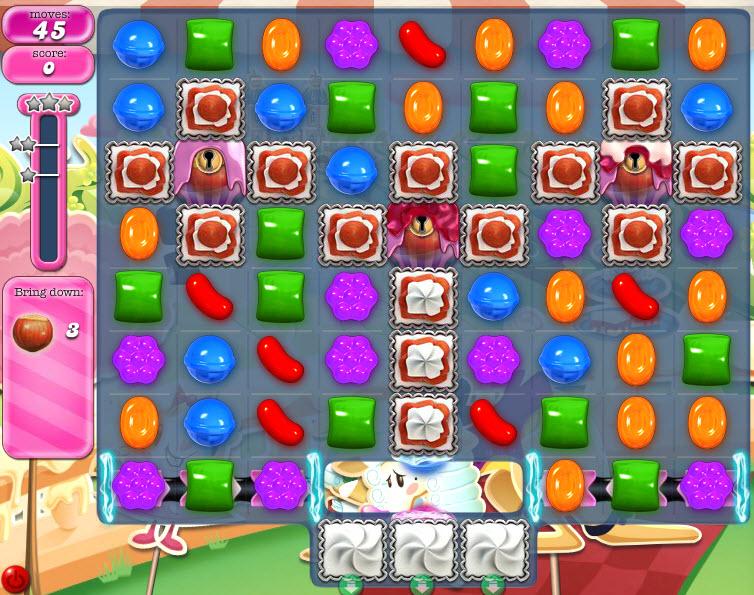 Candy Crush Saga niveau 871