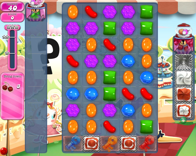 Candy Crush Saga niveau 863