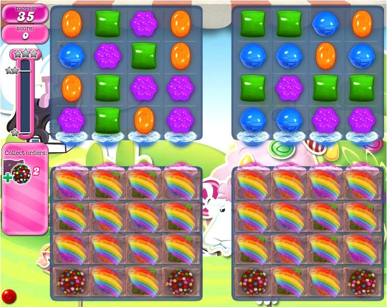 Candy Crush Saga niveau 467