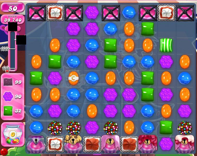 Candy Crush Saga niveau 1476 après