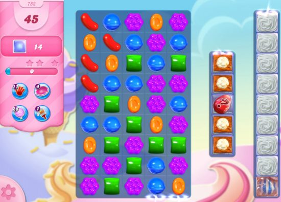 candy crush saga niveau 782