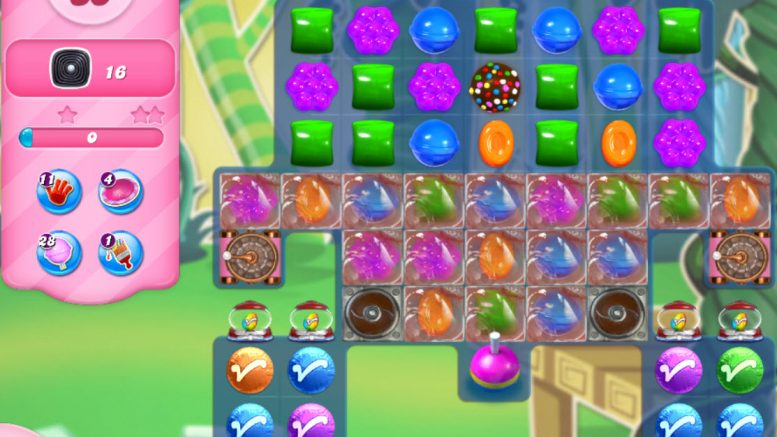 Candy Crush Saga niveau 2958