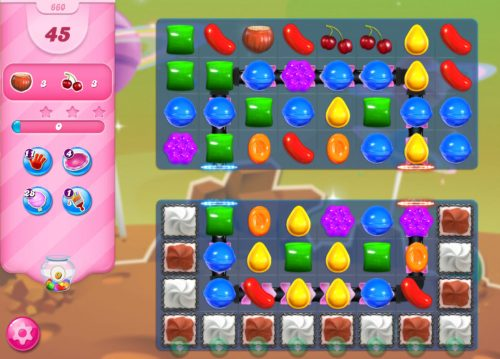 Candy Crush Saga niveau 660