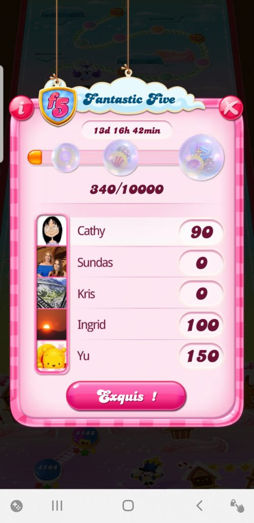 Fantastic-Five-Candy-Crush-Saga-points