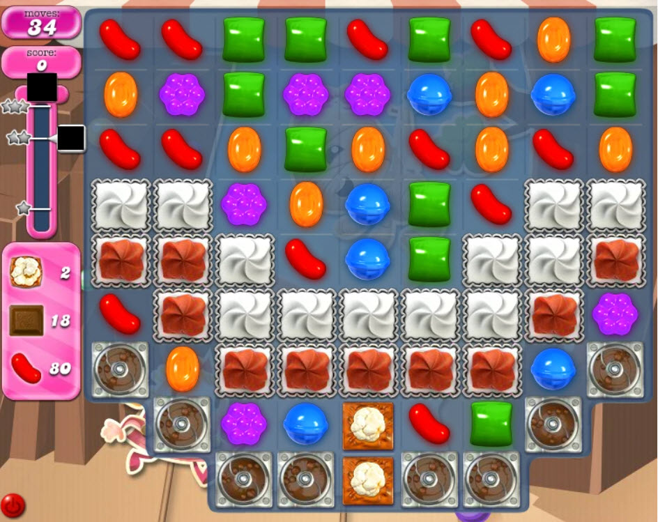 candy crush saga niveau 1858