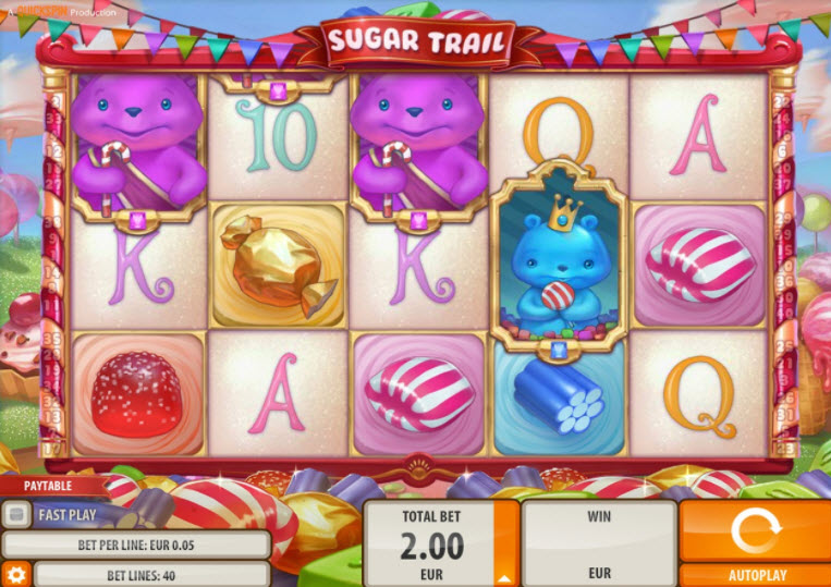 Sugar Trail de Quickspin