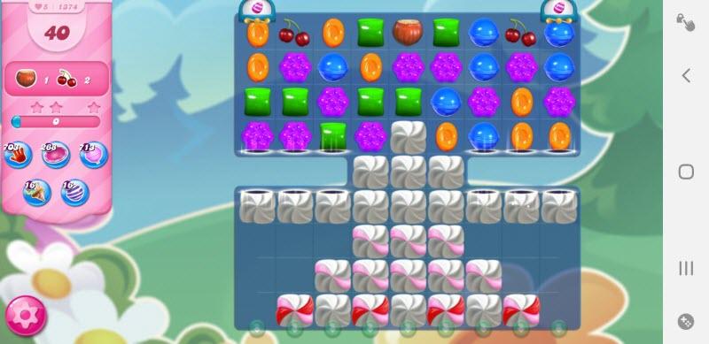 Candy Crush Saga niveau 1374