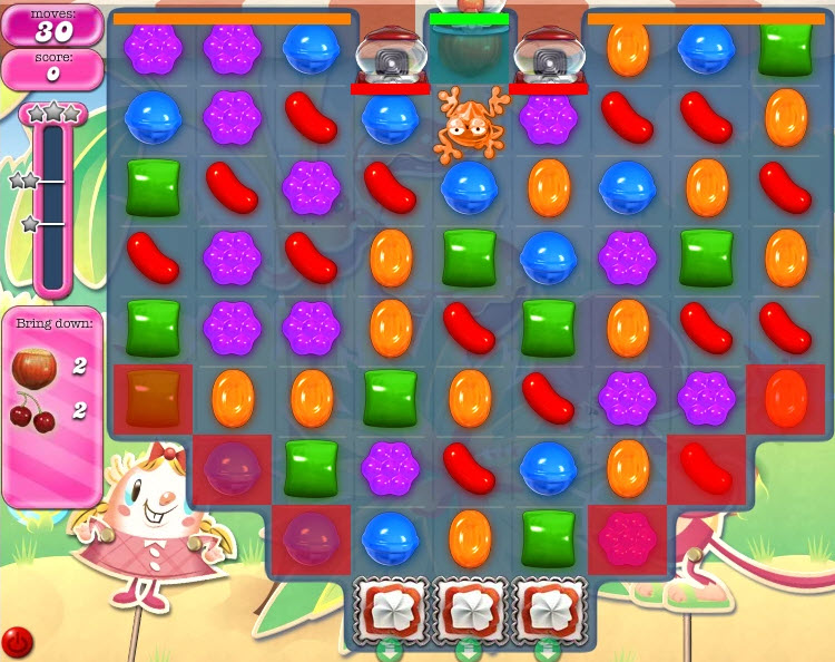 candy crush saga niveau 635 solution