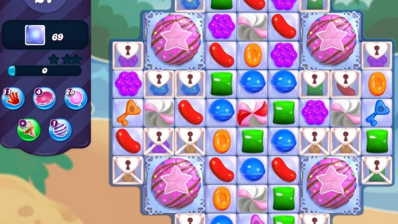candy crush saga niveau 2981