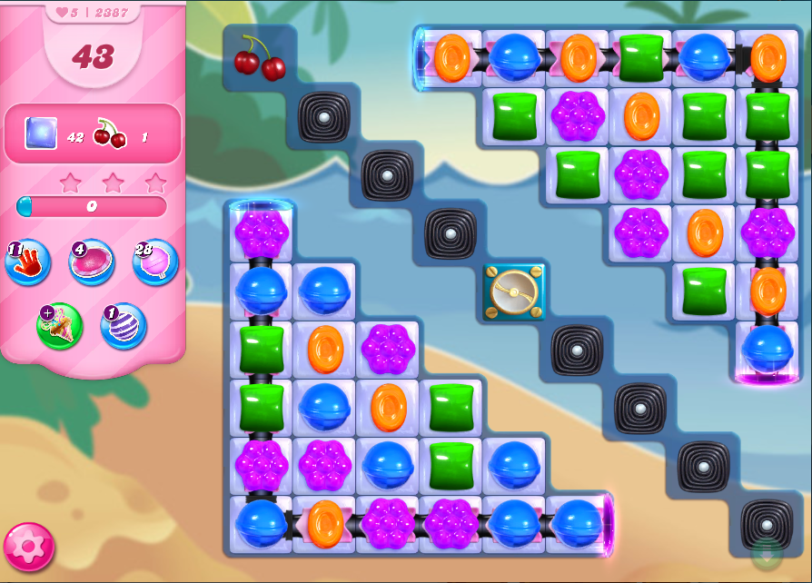 Candy Crush Saga niveau 2387