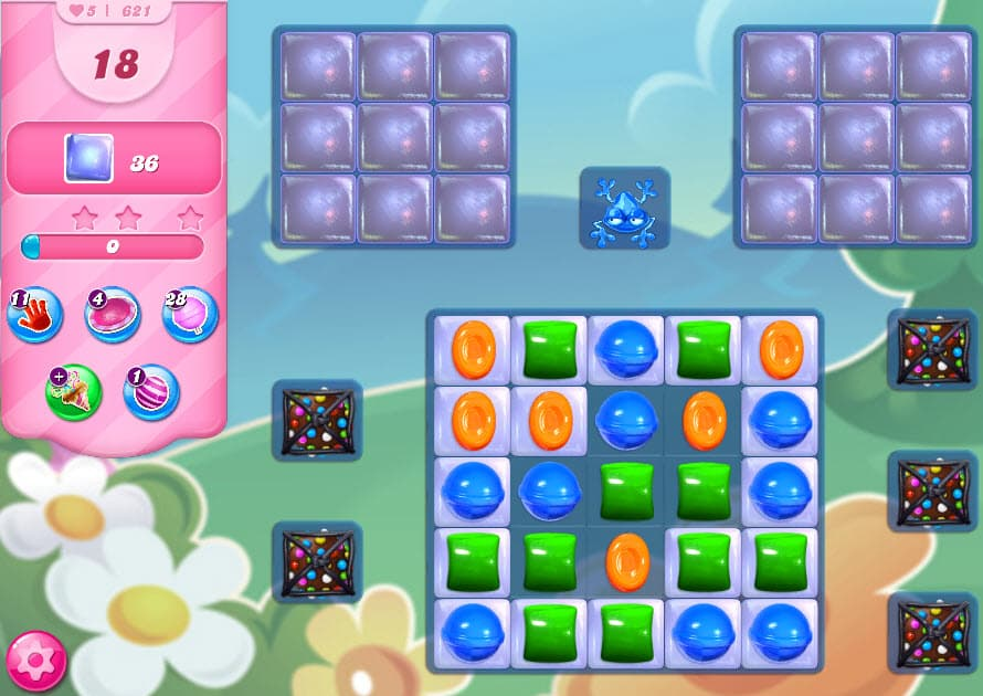 candy crush saga niveau 621