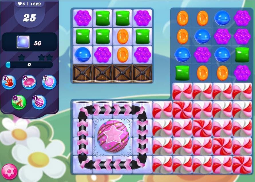 Candy Crush Saga niveau 1229