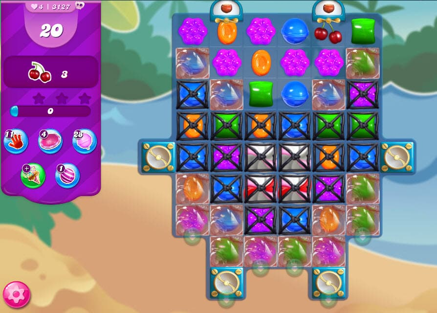 Candy Crush Saga niveau 3127