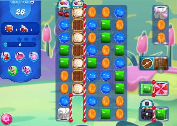 candy crush niveau 3914