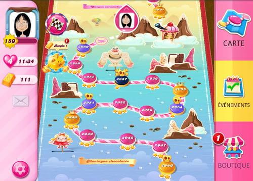 niveau 2951 candy crush saga
