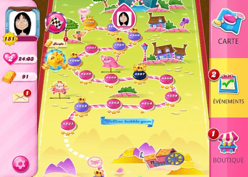 candy crush saga niveau 4252
