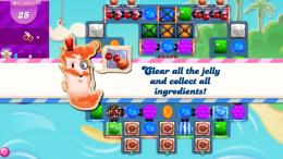 candy crush niveau mixte
